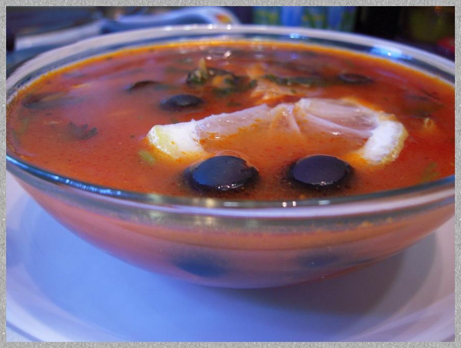 Рыбный суп «Средиземноморский»