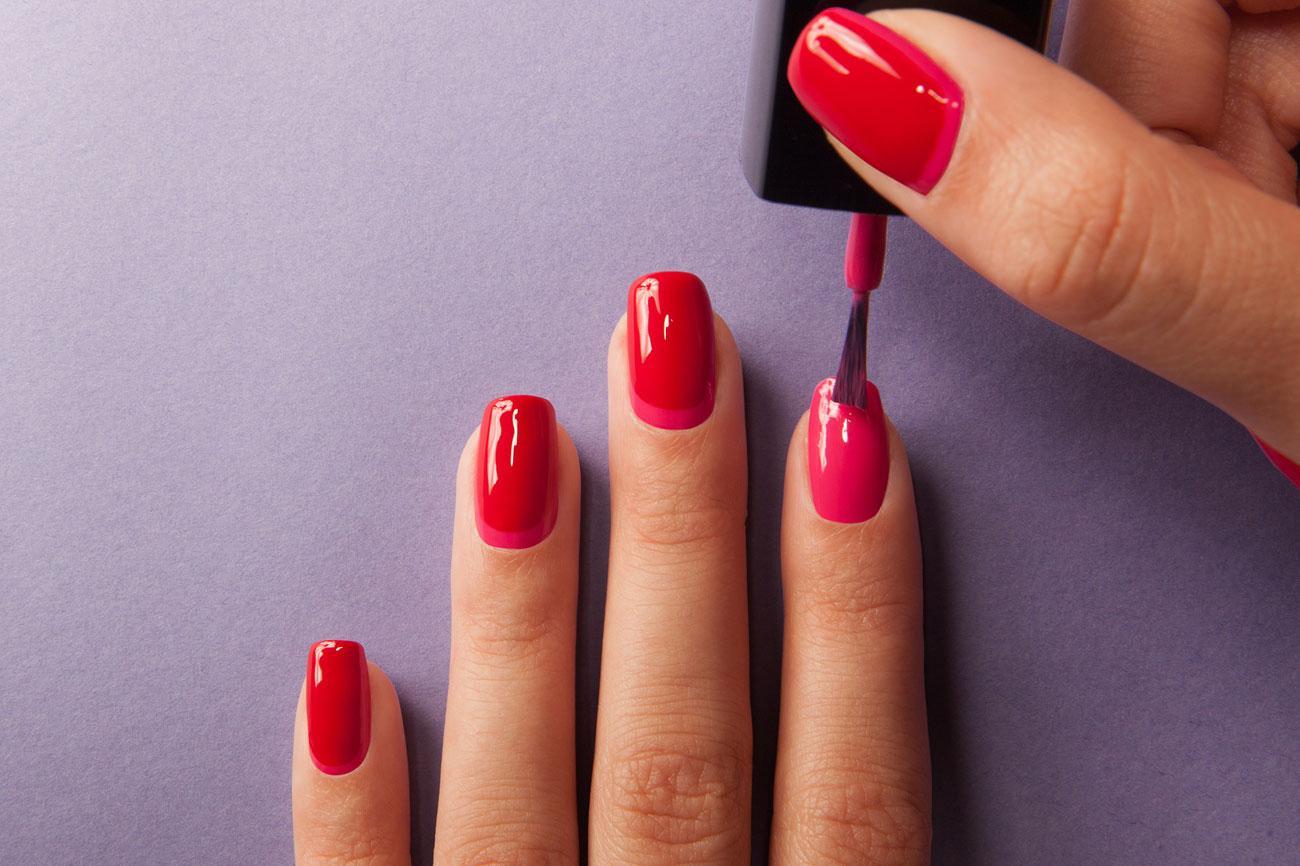 Покрытие гелем ногтей самой себе