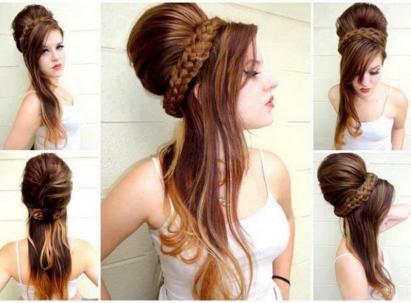 Модная стрижка на длинные волосы своими руками